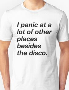 I LOVE TO PANIC Unisex T-Shirt