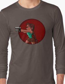 Tomb Raider- Lara Croft Long Sleeve T-Shirt