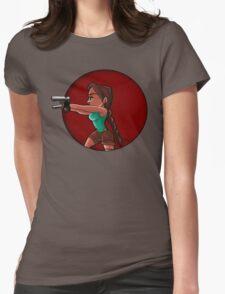 Tomb Raider- Lara Croft Womens Fitted T-Shirt