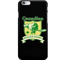 Canadian Roller Derby iPhone Case/Skin