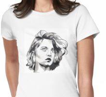 Léa Seydoux Womens Fitted T-Shirt