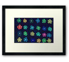 Childhood flowers Framed Print