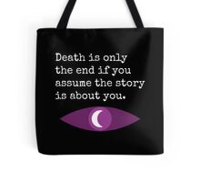 Welcome To Night Vale Death Design BLACK & WHITE Tote Bag