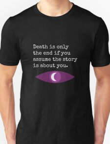 Welcome To Night Vale Death Design BLACK & WHITE Unisex T-Shirt