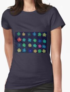 Childhood flowers Womens Fitted T-Shirt