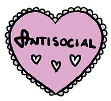 Love heart - Antisocial by lxgstad