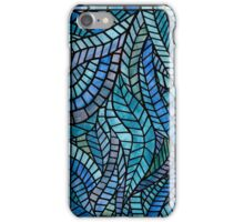 Blue Geometric Mosaic iPhone Case/Skin