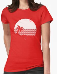 The Neighbourhood beach band Womens Fitted T-Shirt