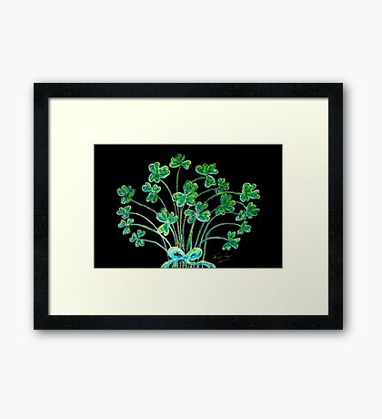 Happy St. Patrick's Day Framed Print