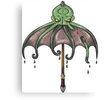 Ktulu Umbrella Canvas Print
