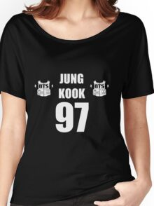 BTS- JUNG KOOK Women's Relaxed Fit T-Shirt