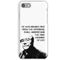 Break free from the hyperreal iPhone Case/Skin