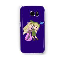Loz - link and zelda with navi Samsung Galaxy Case/Skin