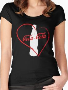 I love coca-cola Women's Fitted Scoop T-Shirt