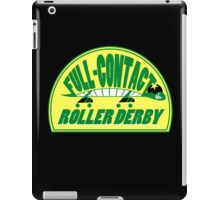 Full-Contact Roller Derby iPad Case/Skin