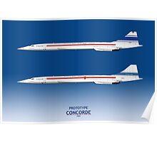 Prototype Concordes 001 and 002 Poster