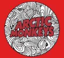arctic monkey art  One Piece - Long Sleeve