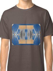 Reflected Straws Motive Classic T-Shirt