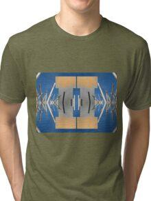 Reflected Straws Motive Tri-blend T-Shirt
