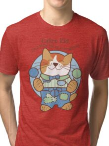 Calico Kid a little bit of everything, cat Tri-blend T-Shirt