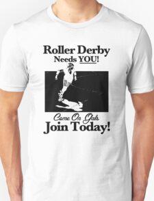 Roller Derby Recruiter T-Shirt
