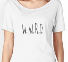 WWRD What Would Ray Do - Scorpion  Women's Relaxed Fit T-Shirt
