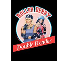 Roller Derby Double Header Photographic Print