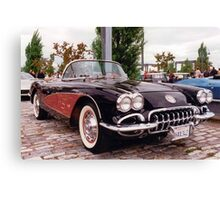 A Cali Vette in Montreal 2 Canvas Print