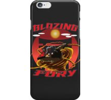 Blazing Fury iPhone Case/Skin