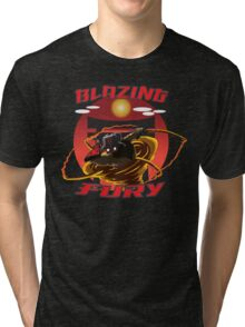 Blazing Fury Tri-blend T-Shirt