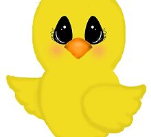 Cartoon Easter Chick by BeachBumFamily