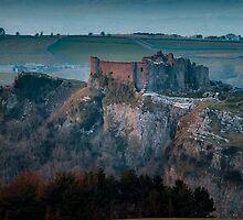 Carreg Cennen Castle near Trapp by Leighton Collins