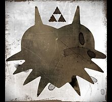 Faded Majora's Mask by AJColpitts
