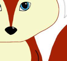 Cute Red Fox Sticker