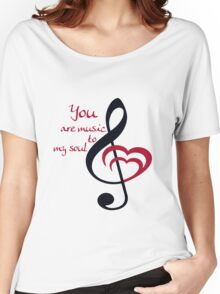 Soul Music Women's Relaxed Fit T-Shirt