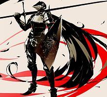 Dark Souls: Knight and Crow by MemeDaddyCool