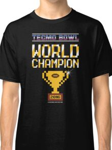Tecmo Bowl World Champion 2016 Classic T-Shirt