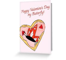 Sugared Wings Greeting Card