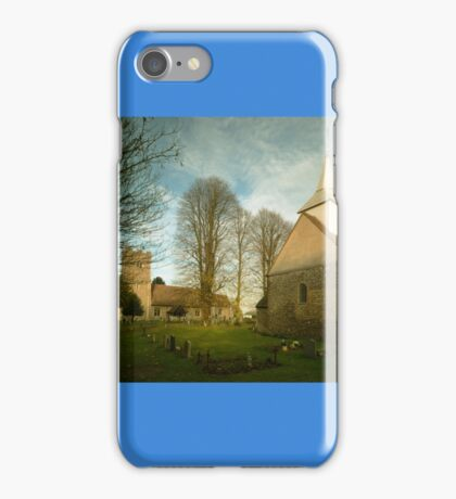 Willingale's Churches iPhone Case/Skin