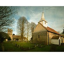 Willingale's Churches Photographic Print