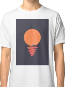 Paper Swan in the Sunset Classic T-Shirt