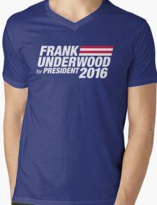 Frank Underwood for President 2016 Mens V-Neck T-Shirt