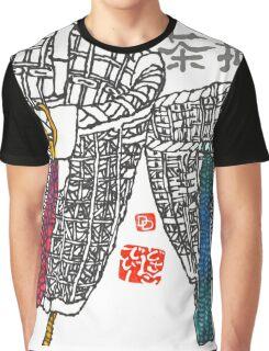 Tea-Picker's Basket Graphic T-Shirt
