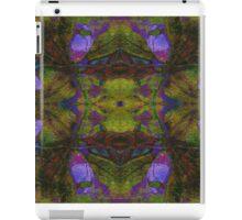 Floral Leaf Mirror iPad Case/Skin