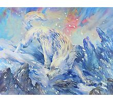 skoll - watercolor Photographic Print