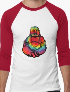 Tie-Dye Buddha 2 Men's Baseball ¾ T-Shirt