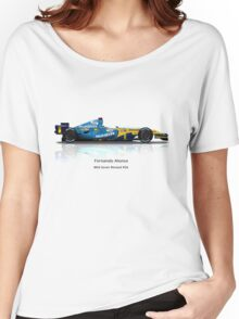 Fernando Alonso - Renault R26 Women's Relaxed Fit T-Shirt