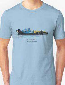 Fernando Alonso - Renault R26 Unisex T-Shirt