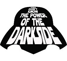 The Darkside Photographic Print