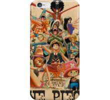 ONE PIECE - TEAM LUFFY (crewmate) iPhone Case/Skin